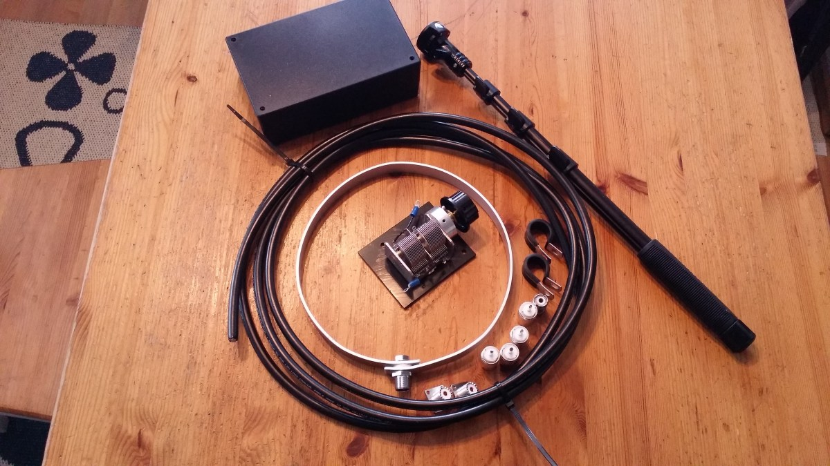 DIY Man Portable Magnetic Loop Antenna